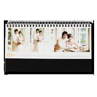 滿版橫式立架桌曆
